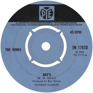 the-kinks-days-pye