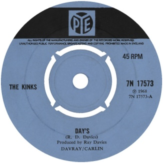 the-kinks-days-pye